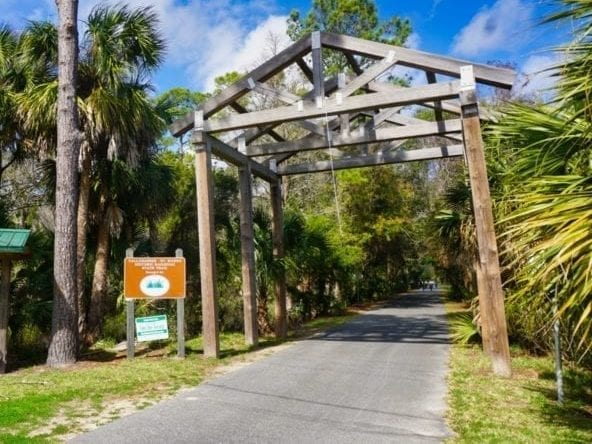 Southern Terminus of Tallahassee St Marks Trail
